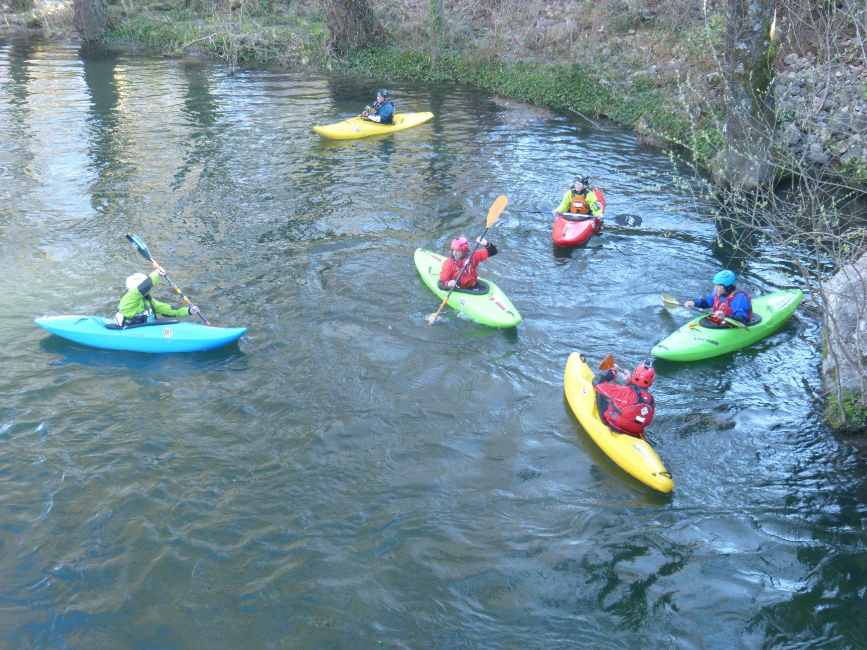 Curso Kayak Río Alberche