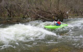 Boof en río Tormes